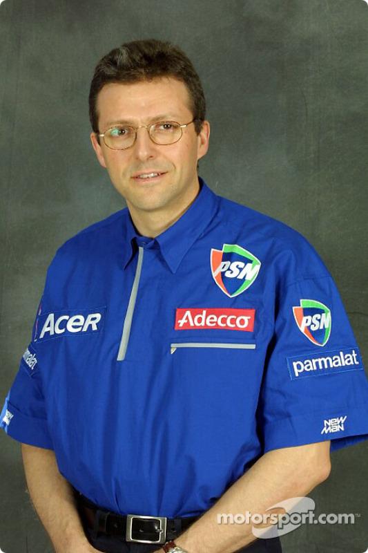 El director técnico Henri Durand