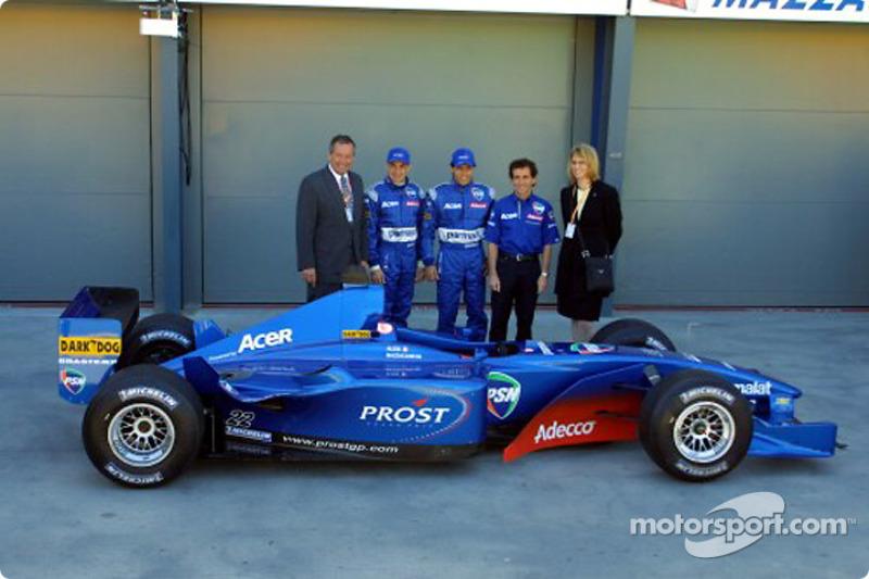 Sonrisas y el Prost Acer AP04