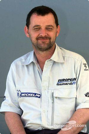 Minardi Yönetim Kurulu Başkanı ve CEO Paul Stoddart