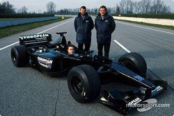 European Minardi PS01 shakedown