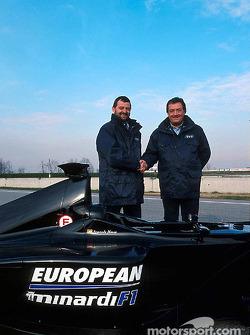 Paul Stoddart y Gian Carlo Minardi