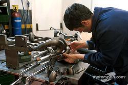 La fábrica de Minardi en Faenza