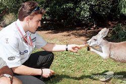 Postcard from Australia: Fernando and Skippy