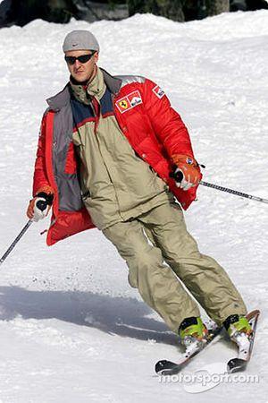 A esquiador con estilo