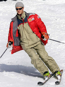 A stylish skier