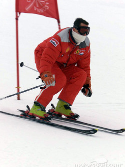Michael Schumacher in the Giant Slalom