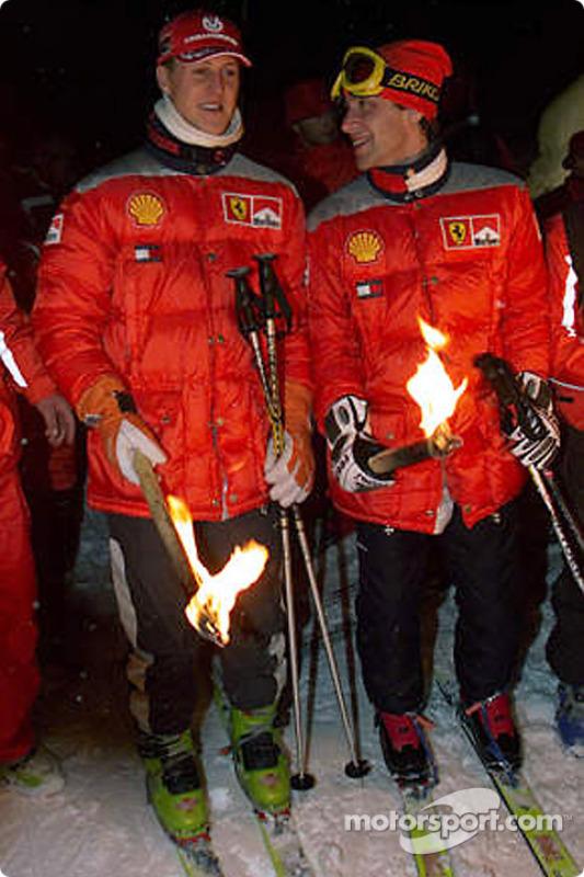 Prêt pour le ski nocturne