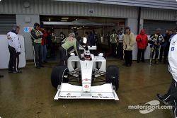 Olivier Panis dans la BAR Honda 003