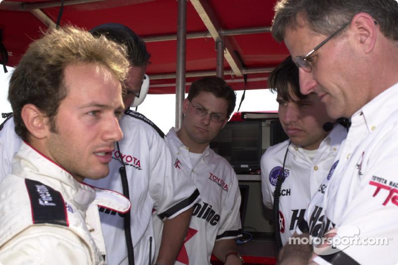 Cristiano da Matta and Team Newman-Haas