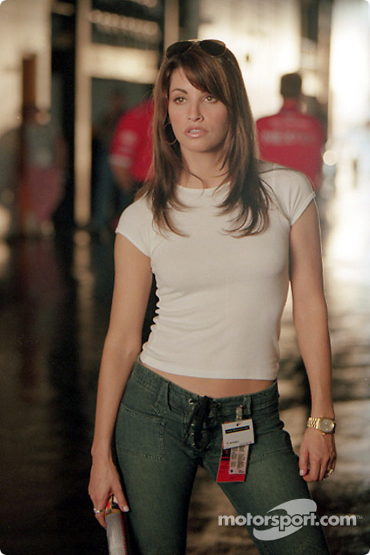 sultry actress gina gershon as joe tanto s ex wife cathy at