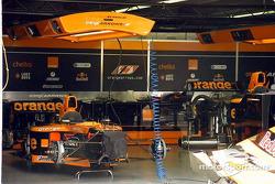 El garage de Arrows