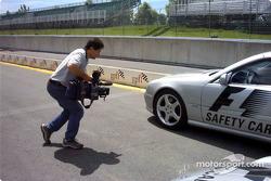 Filmando el safety car