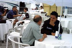 Tiempo de medios para Tarso Marques y Fernando Alonso