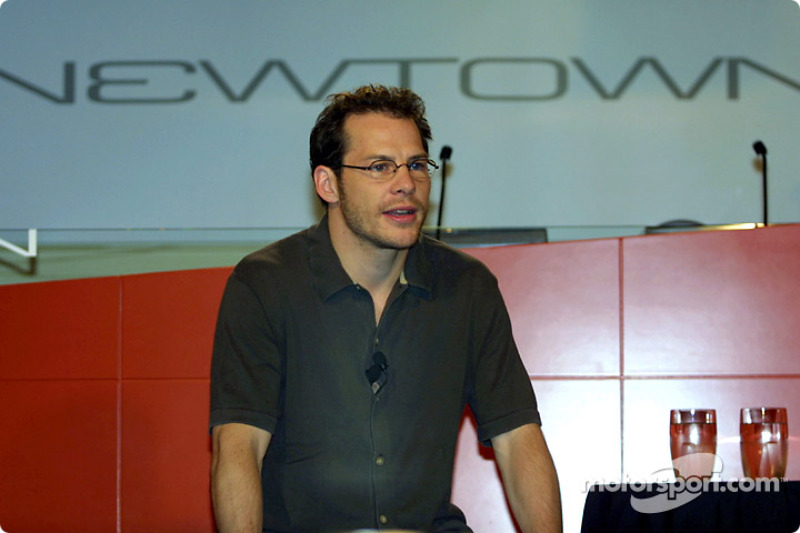 Jacques Villeneuve at his press conference