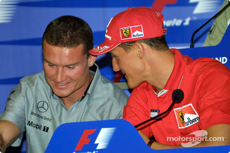 Thursday press conference: David Coulthard and Michael Schumacher