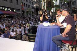Saturday, BMW M night streets, Montreal: Ralf Schumacher
