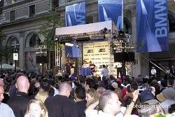 Sábado, BMW M noche en las calles de Montreal: Ralf Schumacher