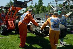 Jacques Villeneuve için zor bir sabah