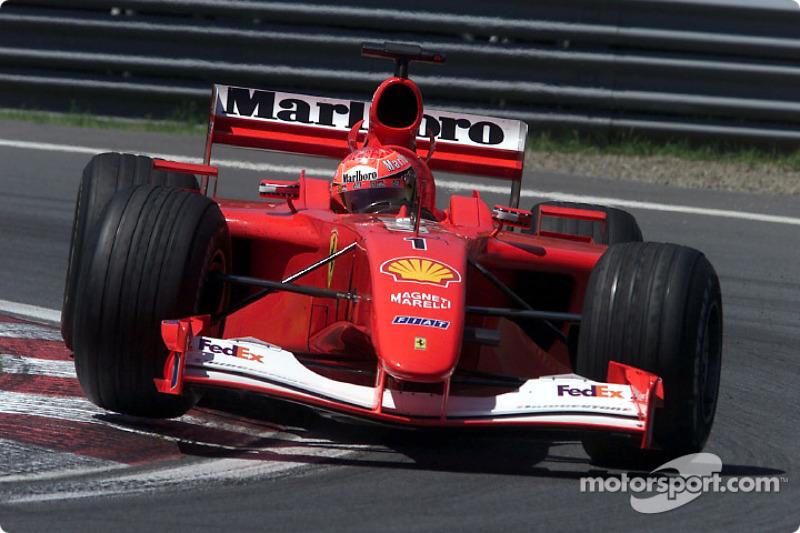 2001〜2002年:フェラーリF2001