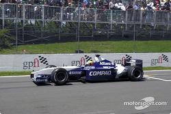 Ralf Schumacher practicing his start
