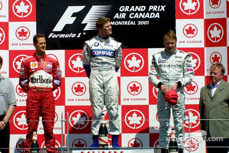На Гран При Канады-2001 впервые в истории Ф1 «дубль» сделали два брата – Михаэль и Ральф Шумахеры. Победил тогда младший