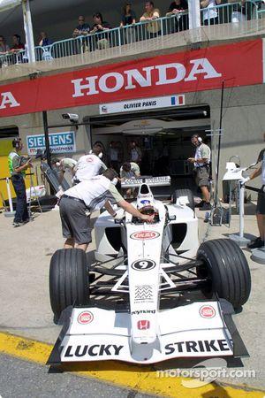 Antes de la carrera: Olivier Panis