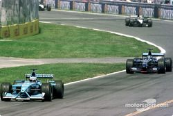 Jenson Button et Jean Alesi