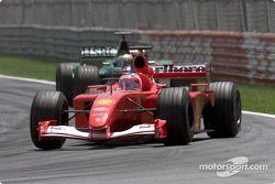 Rubens Barrichello et Pedro de la Rosa