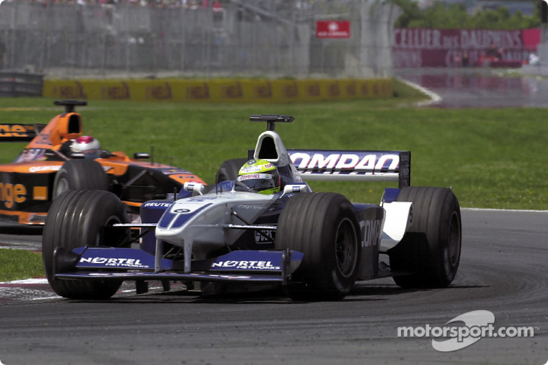 Ralf Schumacher and Jos Verstappen