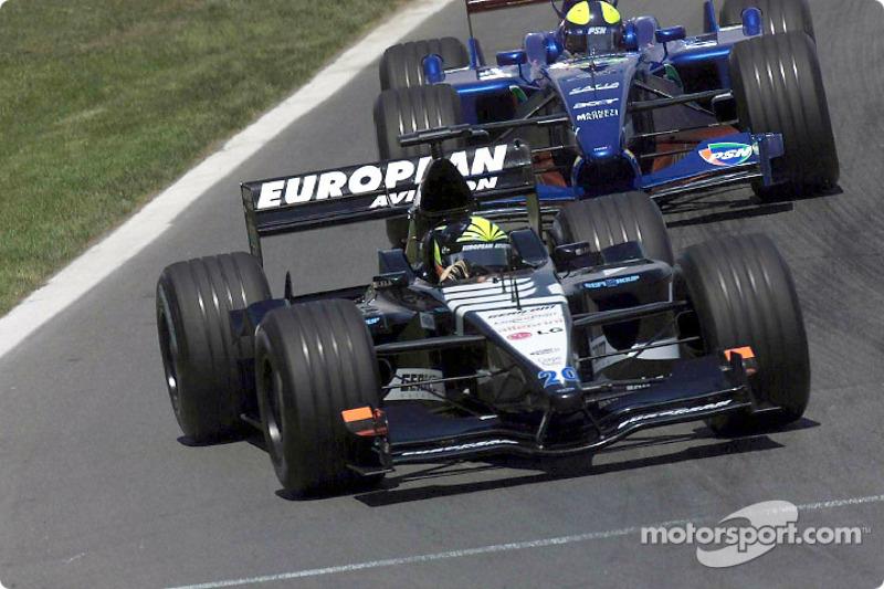 Tarso Marques and Luciano Burti