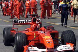 Une deuxième place pour Michael Schumacher