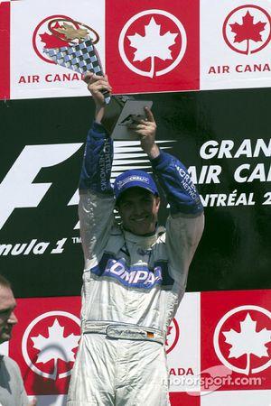El ganador de la carrera Ralf Schumacher