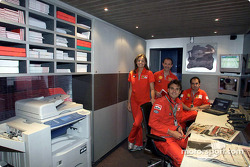 Visit, Ferrari media unit: press office staff