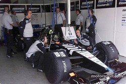 Minardi'in garajı: Tarso Marques