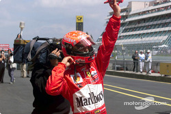 Another Pole: position for Michael Schumacher
