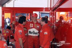 Luca Baldisseri, Michael Schumacher ve Jean Todt