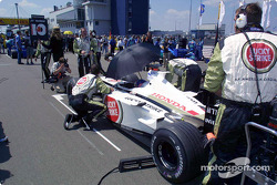 starting grid: Jacques Villeneuve