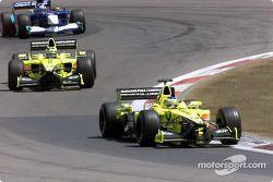 Jarno Trulli, Heinz-Harald Frentzen et Kimi Raikkonen