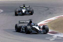 Fernando Alonso and Tarso Marques