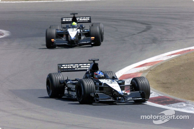 Fernando Alonso and Tarso Marques
