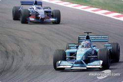 Jenson Button and Jean Alesi