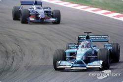 Jenson Button ve Jean Alesi