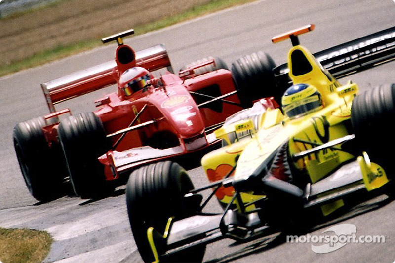 Ricardo Zonta e Rubens Barrichello