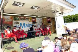 Sesion de entrevista técnica con Panoz Motor Sports