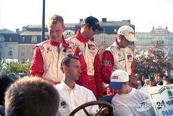 Magnussen, Brabham, Lagorce de Panoz