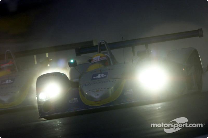 Ni Amorim drives into the dark at Le Mans