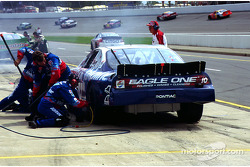 Johnny Benson pits
