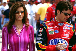 Jeff Gordon Brooke Gordon David Letterman Drew Barrymore And Me