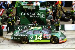 Ron Hornaday entra a pits