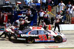Dave Blaney entra a pits